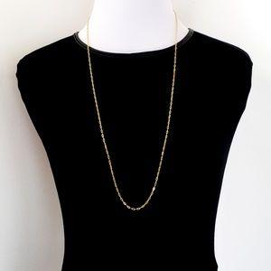 J. Crew Chain Demi Fine Jewelry 14k Gold-Plated